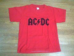 AC・DCTシャツ95〜100�pバックプリントも可愛い美品