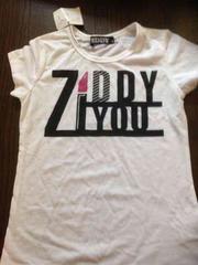 ZIDDY デカロゴ半袖T 130