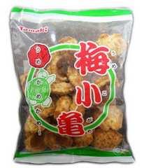 沖縄 ご当地せんべい 梅小亀 玉木製菓 80g O36M-2