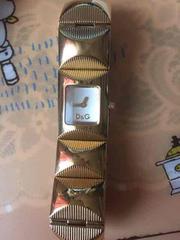 ドルチェ&ガッパーナタイム腕時計中古品美品