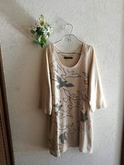 CIAO PANIC☆渡り鳥ニットソーワンピース
