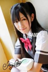 【送料無料】AKB48渡辺麻友 写真5枚セット<サイン入> 28
