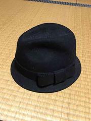 新品タグ付き ローリーズファーム フェルトハット 帽子 黒
