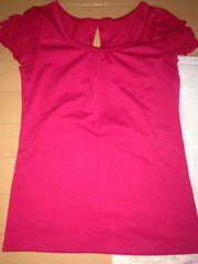 赤☆レッド☆半袖カットソー☆Tシャツ