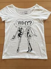 GRLイラストTシャツ