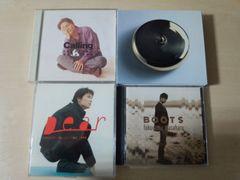 福山雅治CD4枚セット★「BOOTS / Calling / Dear /風〜」