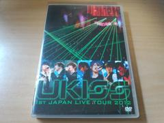 DVD「U-KISS 1st JAPAN LIVE TOUR 2012」韓国K-POP ZEPP TOKYO●