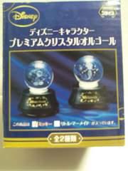 ディズニキャラクタープレミアムクリスタルオルゴール新品ミッキーマウスver.ガラス製