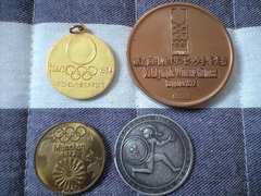 オリンピック 記念メダル 4点