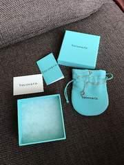 ティファニー確実本物TIFFANY&Coネックレス保存袋箱付き正規品