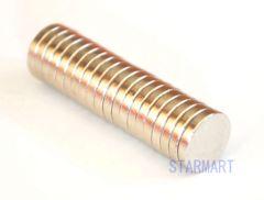 強力 丸型ネオジウム磁石マグネット 10x2mm 【20個セット】