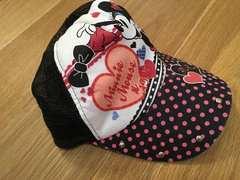 かわいい!ミニーちゃん メッシュ帽子
