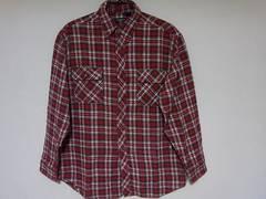 即決USA古着SALMON RIVERチェックデザインネルシャツ!ヴィンテージアメカジ
