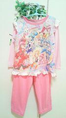 ◆ハピネスチャージプリキュア!◆ 光る!パジャマ ピンク*110☆