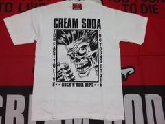 クリームソーダTシャツ cream soda ピンクドラゴン