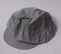 新品スチューシーSTUSSY☆グレーコットン帽子sizeL