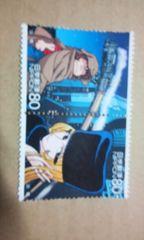 銀河鉄道999記念切手出発80円×2枚未使用