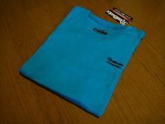 新品 リアルビーボイス メンズ 半袖 サーマル ブルー Tシャツ Lサイズ