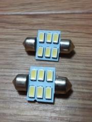 LEDルームランプ  SMD5630×6(ランプ管型)2個セット
