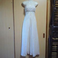 Eureka USAホワイト ストーン キャミロングドレス
