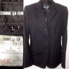 コムサ美品スーツテーラードジャケット細身Lビジネスフォーマル