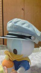 LB-03デニムキャスケット ケミカルウォッシュぼうしマリン系刺繍デザイン