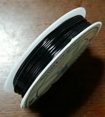 オペロンゴム  ブラック  太さ約0.8mm  天然石ブレス制作に