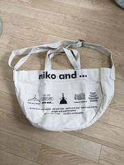 niko and...ニコアンド新品未使用2wayバック