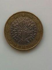 フランス 1999年 1ユーロ硬貨 通常コイン 流通品