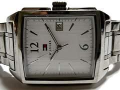 極レア 1スタ★トミーヒルフィガー/TOMMY 大型メンズ腕時計