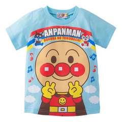 *ANPANMAN*アンパンマンどーんとピースTシャツ*80�a*新品*保育園・遊び着に*