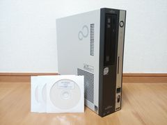 【Windows7】FUJITSU FMV-D5270 Core2Duo メモリ2GB Office