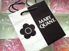 MARY QUANTミニミニサイズのショップ袋 超可愛い