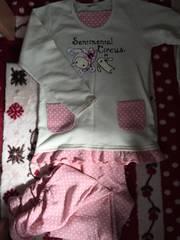 サンリオ☆センチメンタルサーカス☆パジャマ☆白×ピンク☆160