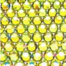● 4mm ● デコ用ストーン  2000粒 ライトイエロー