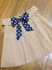 JAYRO★ウエストリボン付スカート