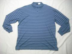 fw08 男 NAUTICA ノーティカ 長袖ポロシャツ XXLサイズ