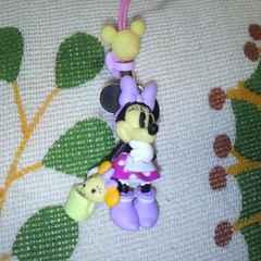 ディズニーミニーマウス ストラップ