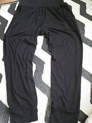 LLサイズ★ゆったりズボン★黒