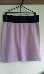 ピンクベージュSミニタイトスカート