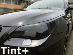 Tint+���x���\��� BMW E60/E61 �w�b�h���C�g �X���[�N�t�B����