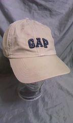 中古 GAP ツイル コットン キャップ カーキ ベージュ系