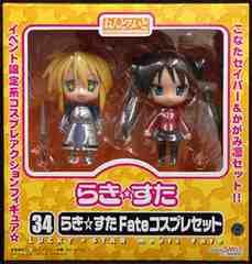 ねんどろいど らき☆すた Fate コスプレセット●WF2008冬限定品