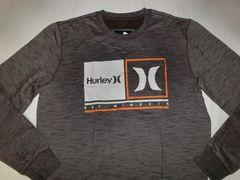 ★USA購入【Hurley】ロゴ スウェットトレーナーUS XL 小豆色系