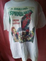 LL大きいサイズMARVEL/スパイダーマンTシャツ白