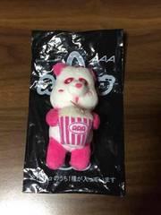 AAA え〜パンダポップコーンキーホルダー 桃 末吉秀太