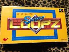 スーパーループス 箱説有 スーパーファミコン LOOPZ