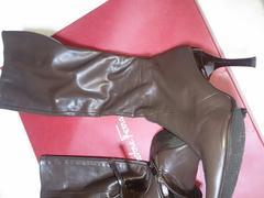 ブーツ 美品 焦げ茶 ブラウン フラジール M