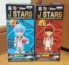 J STARS ワールドコレクタブルフィギュア vol.2&6 黒子テツヤ&火神太我セット