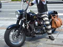ハーレー乗り!神戸【ROAD RUNNER/ロードランナー】囚人パンツ